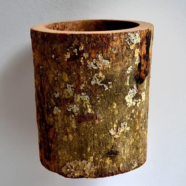 Palmová váza Wood, 22 cm