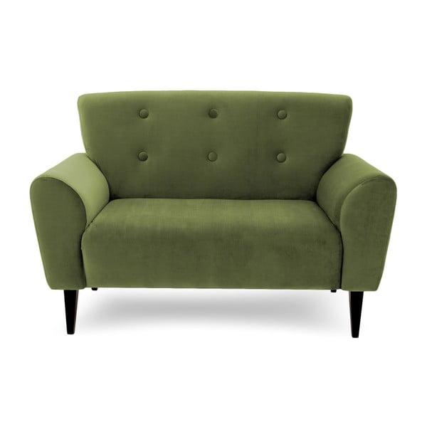 Canapea cu 2 locuri Vivonita Kiara, verde măsliniu