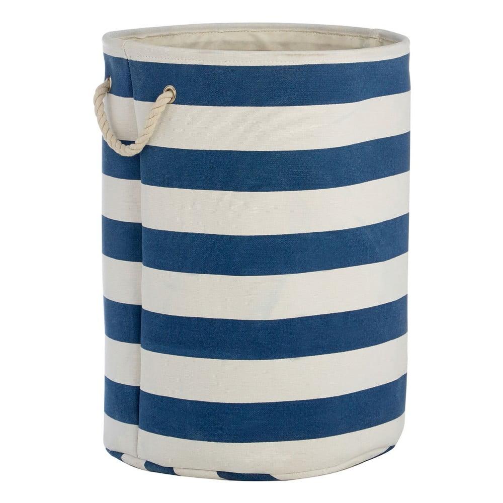 Modro-bílý koš na prádlo Premier Housewares Nautical, 69l