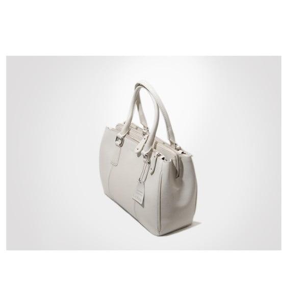 Kožená kabelka Lily, ivory