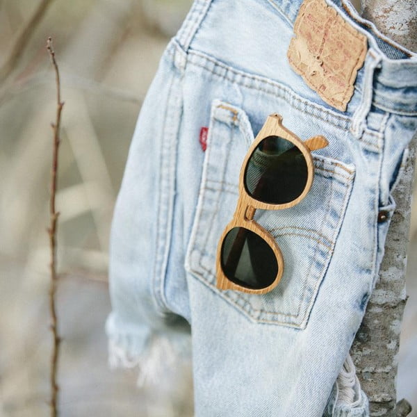 Brýle Belmont Zebrawood/Grey