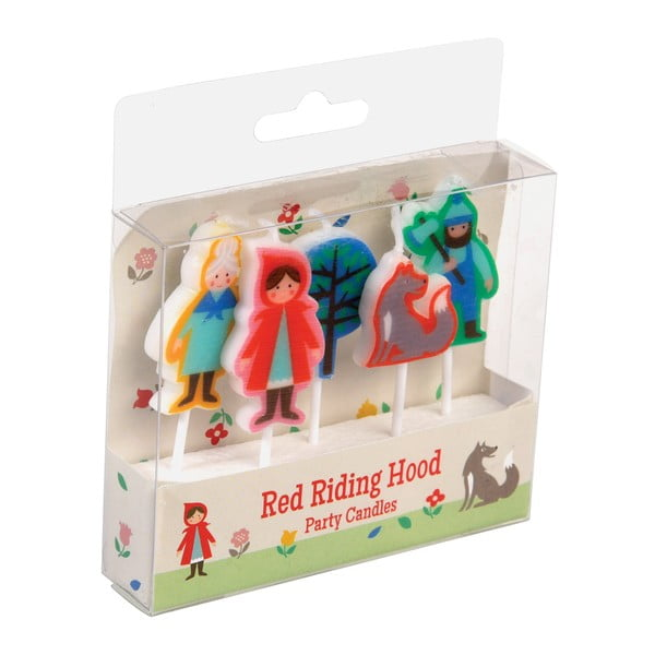 Set 5 lumânări Rex London Red Riding Hood