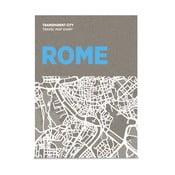 Mapa na popisky Palomar Transparent City Řím