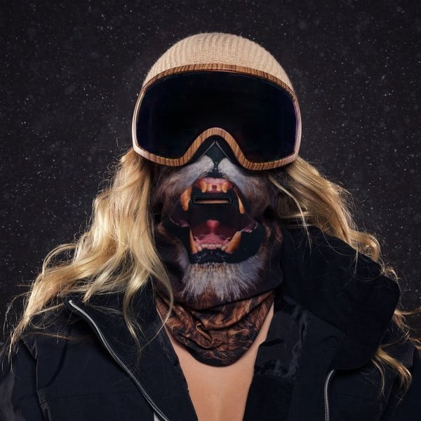 Lyžařská maska Beardo Lion