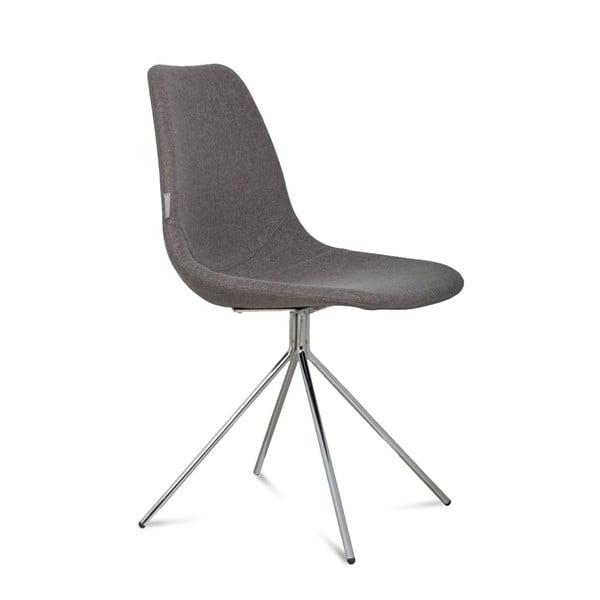 Židle Fourteen Up Chrome Grey