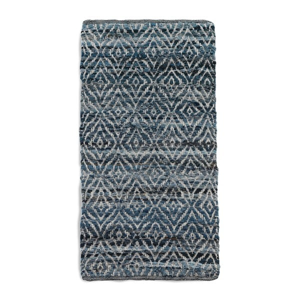Modrý koberec Geese Valencia, 60x 120 cm