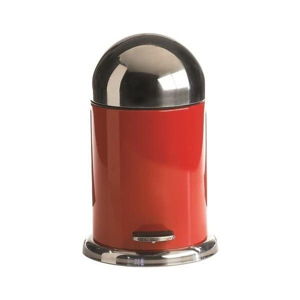 Pedálový koš Galzone 3 litry, červený