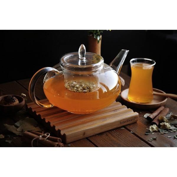 Szklany dzbanek do herbaty Sonnia, 1400 ml