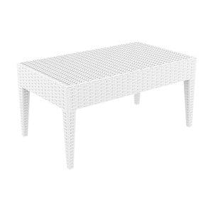 Bílý zahradní konferenční stůl Resol Arctic, 45 x 53 cm