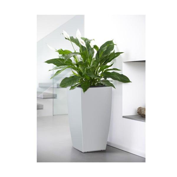 Vysoce odolný květináč Casa Brilliant 66x36 cm, bílý