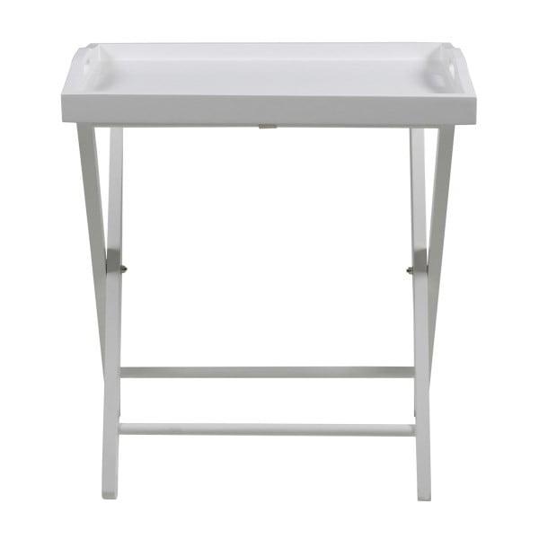 Odkládací stolek Vassoio, bílý