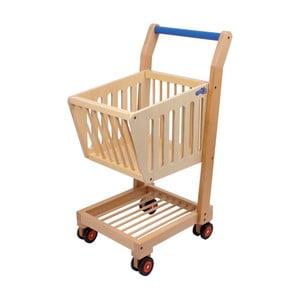 Dřevěný nákupní košík na hraní Legler Nature