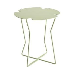 Světle zelený odkládací stolek MEME Design Corolla
