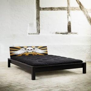 Postel Karup Tami Rock Black/Scull, 153x213 cm