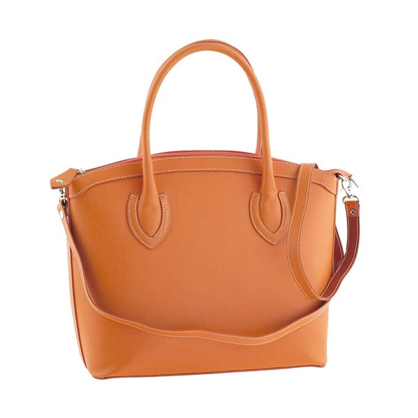 Kožená kabelka Ninety Orange