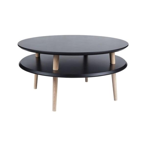 Konferenční stolek UFO 35x70 cm, černý