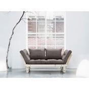 Canapea extensibilă Karup Beat Natural/Gris