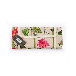 Pikniková deka Surdic Manta Picnic Climbind Plant s motivem květin, 170 cm