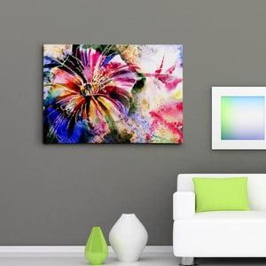 Obraz na plátně Abstraktní lilie, 50x70 cm