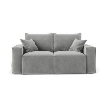 Canapea cu 2 locuri Cosmopolitan Design Florida, gri