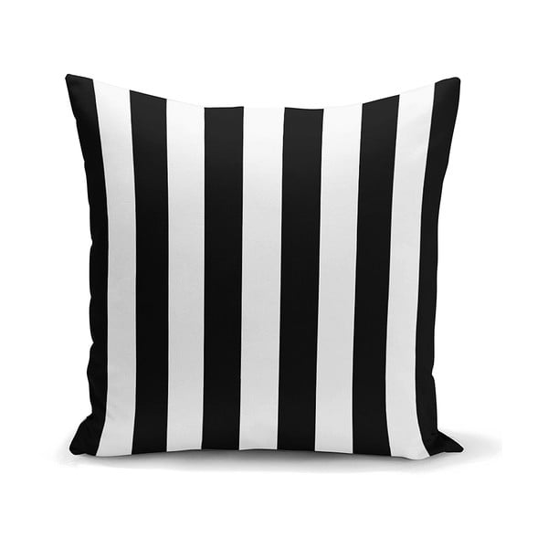 Față de pernă Minimalist Cushion Covers BW Stripes Minimalismo, 45 x 45 cm