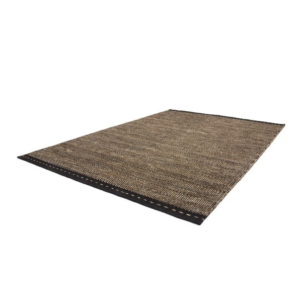 Vlněný koberec Mariposa 80x150 cm, hnědý