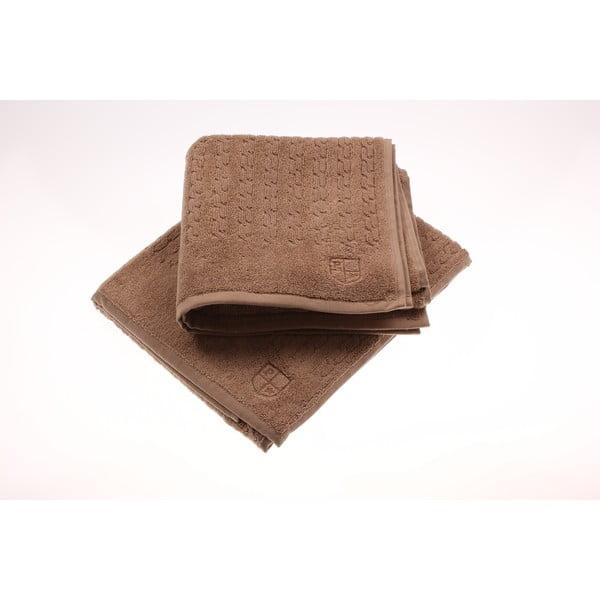 Sada 2 ručníků U.S. Polo Assn. Mink Eden, 50x90 cm