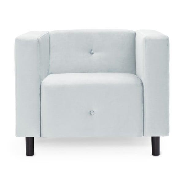 Błękitny fotel Vivonita Milo