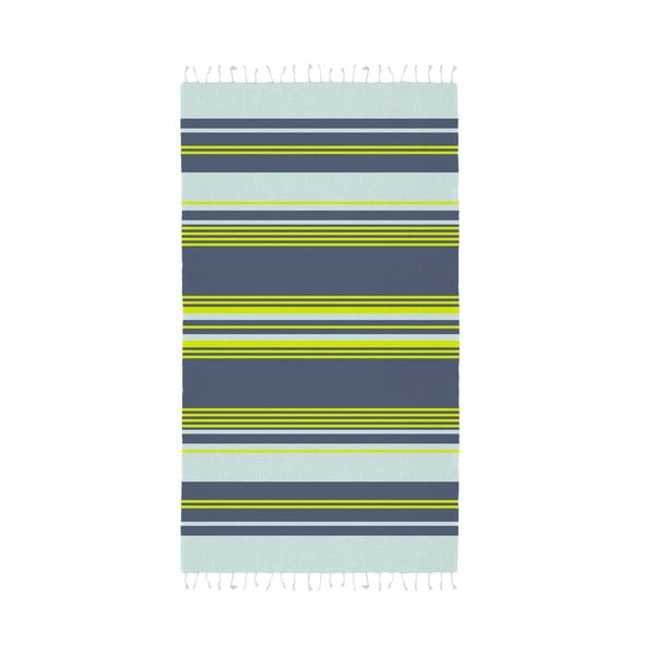 Sada 2 zeleno-modrých hammam osušek HF Living Lush