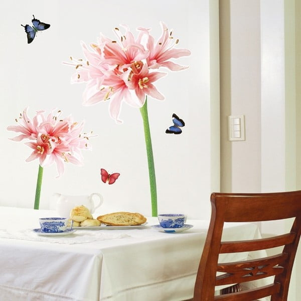 Autocolant Ambiance Lilly Flower