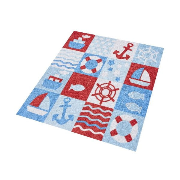 Koberec Hanse Home Kiddy Sailor, 100 x 100 cm