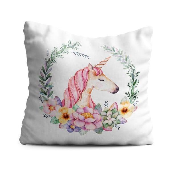 Detský vankúš OYO Kids Elegant Unicorn, 40 x 40 cm