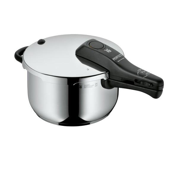 Oală din oțel inoxidabil pentru gătit sub presiune WMF Cromargan® Profi, ⌀ 22 cm