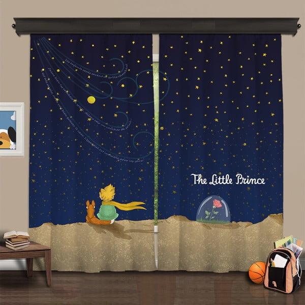 Set 2 draperii Curtain Renno, 140 x 260 cm