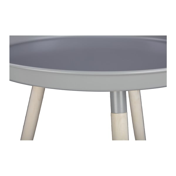 Šedý odkládací stolek Nørdifra Sticks, výška46,5cm