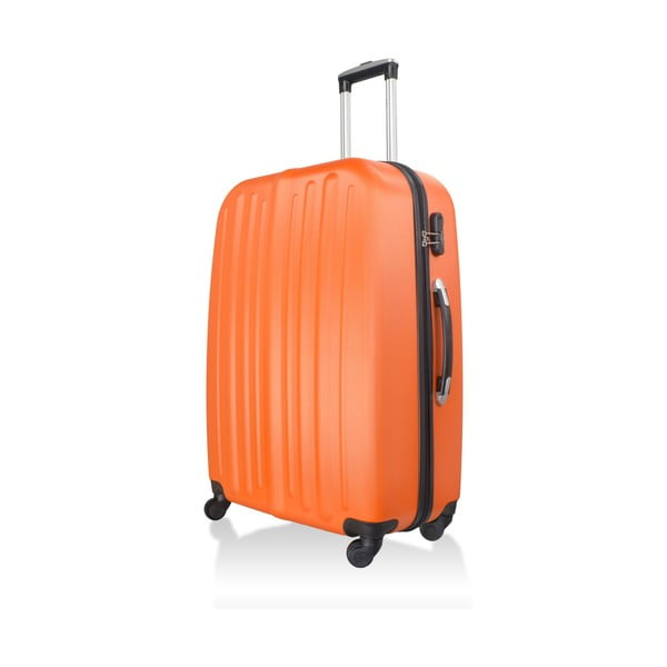 Kufr Luggage Orange, 114 l