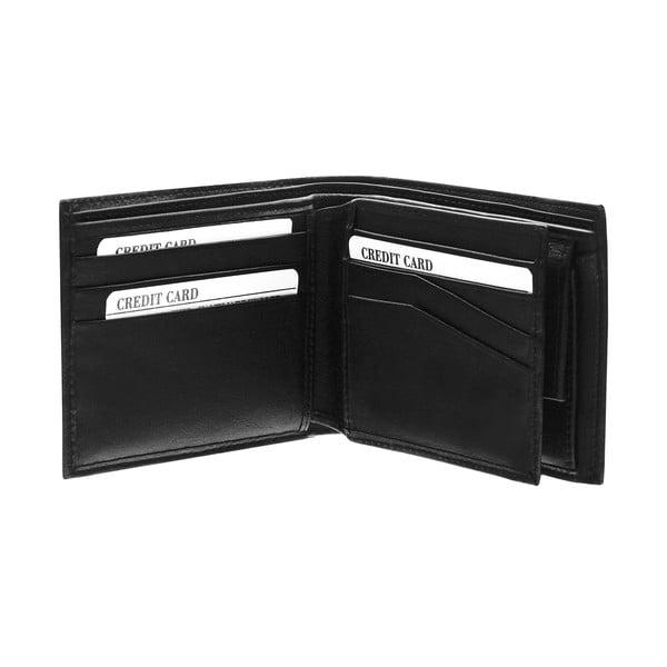 Kožená peněženka Continuum 1522, jednoduché prošívání