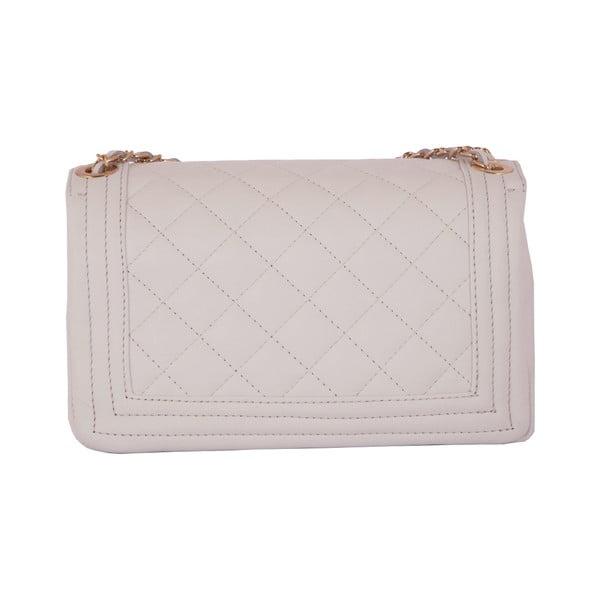 Bílá kabelka z pravé kůže Andrea Cardone Debora