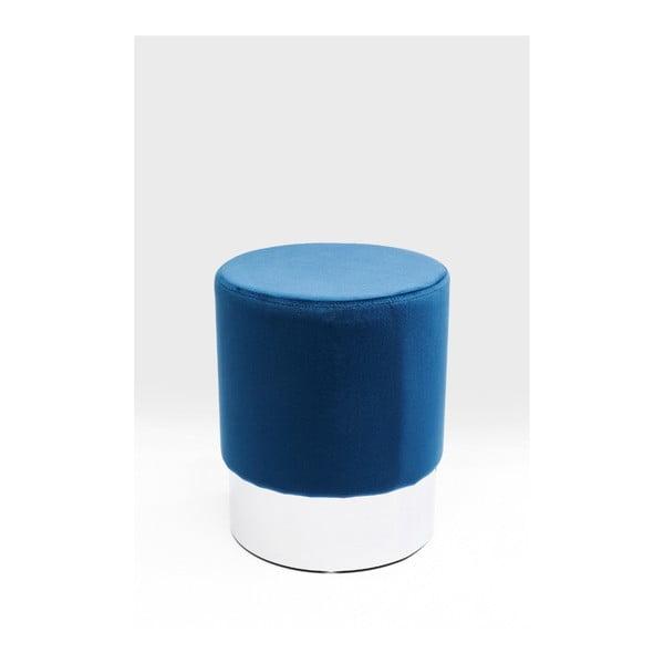 Modrá stolička Kare Design Cherry, ∅35cm