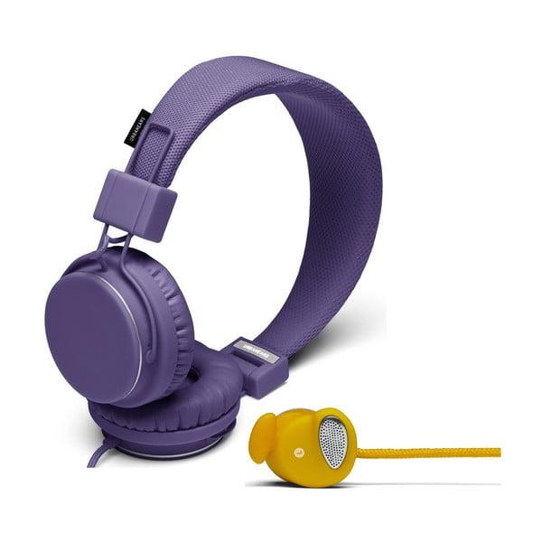Sluchátka Plattan Lilac + sluchátka Medis Mustard ZDARMA