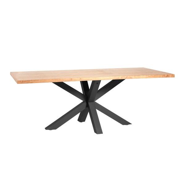 Jedálenský stôl v dubovom dekóre Marckeric Ainoa, 200 x 100 cm