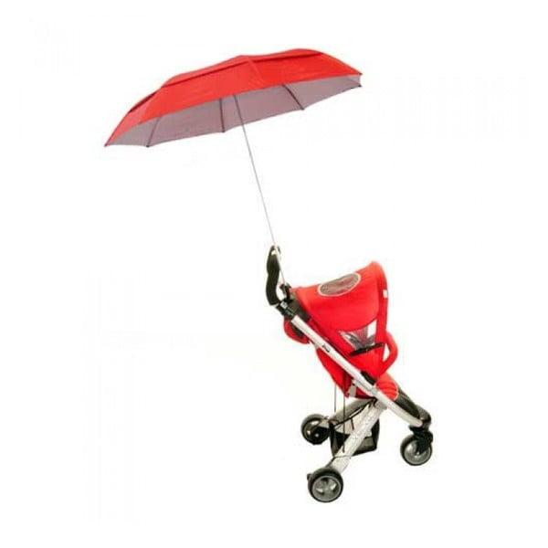 Deštník na kočárek Buggy Brolly, red