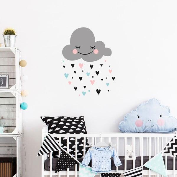 Set autocolante pentru perete Ambiance Cloud