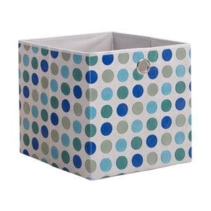 Modrý úložný box 13CasaDotted