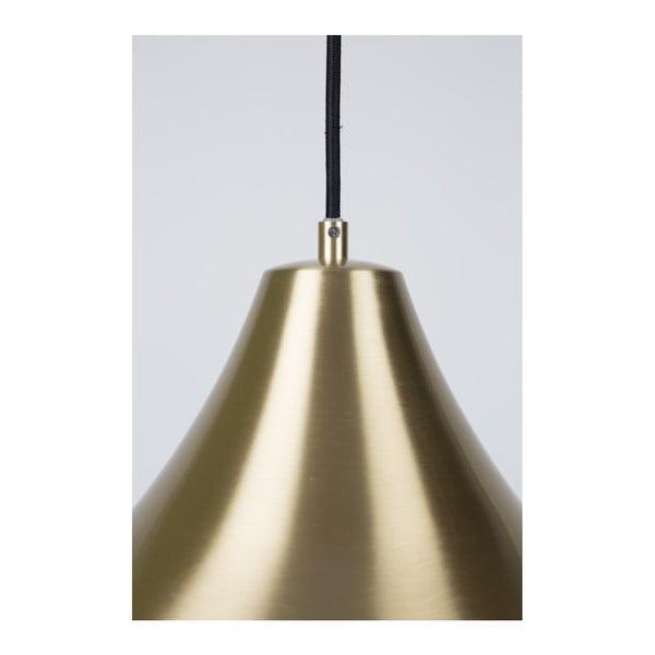 Stropní svítidlo v mosazné barvě Zuiver Gringo