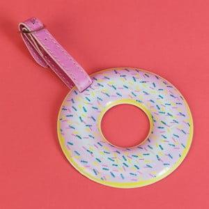 Cedulka na cestovní kufr Just 4 Kids Donut