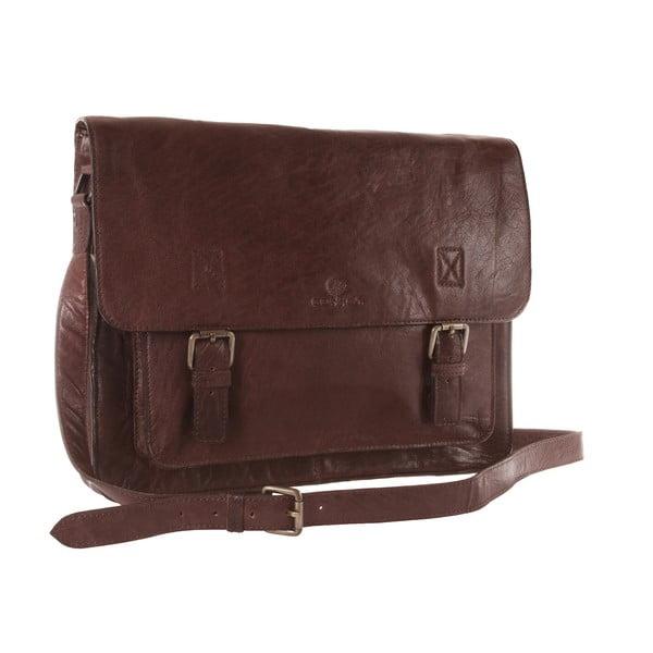 Kožená taška Watson Brown Buffalo