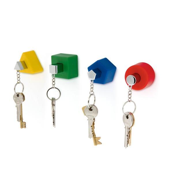 Věšáčky na klíče Shape, barevné