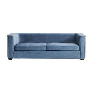 Canapea 2 locuri Kare Design Wave, albastru