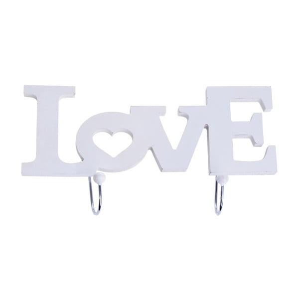 Věšák Love White